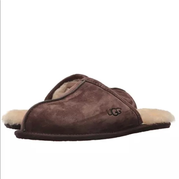 8f075bc0006 🎁UGG®Mens Brown Scuff Slipper new w/ tags 🎁